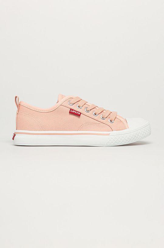 pastelově růžová Levi's - Dětské tenisky Dívčí