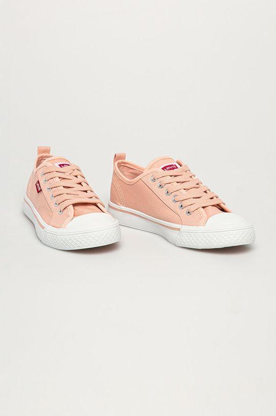 Levi's - Dětské tenisky pastelově růžová