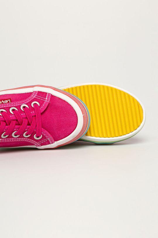 różowy Levi's - Tenisówki dziecięce