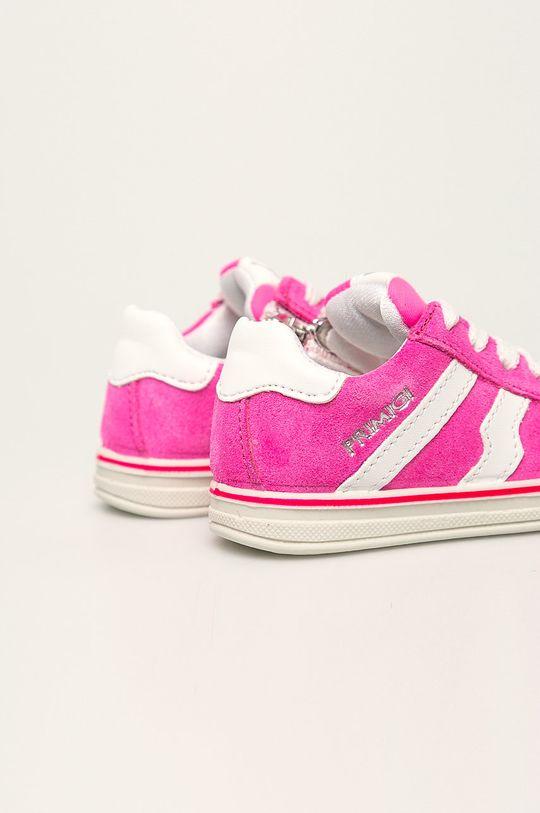 Primigi - Pantofi copii Gamba: Piele întoarsă Interiorul: Material textil, Piele naturală Talpa: Material sintetic