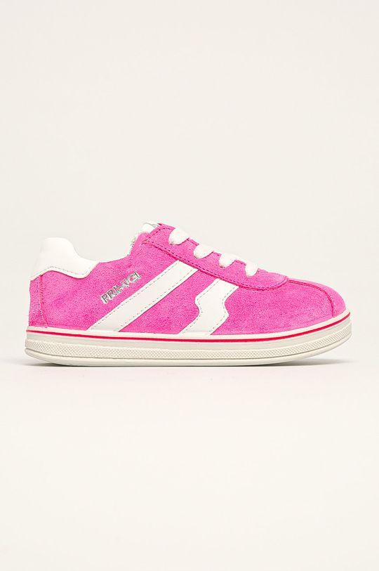 fuchsiová Primigi - Dětské boty Dívčí