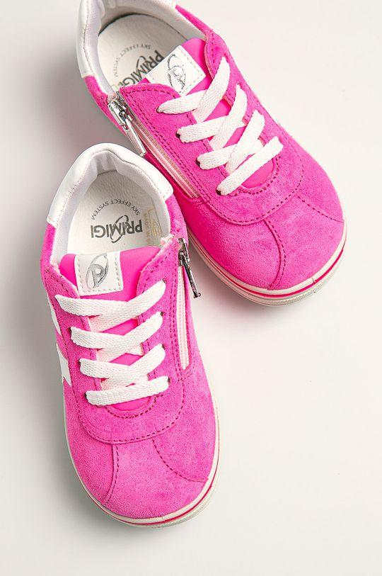 Primigi - Dětské boty fuchsiová
