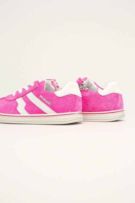 fuchsiová Primigi - Dětské boty