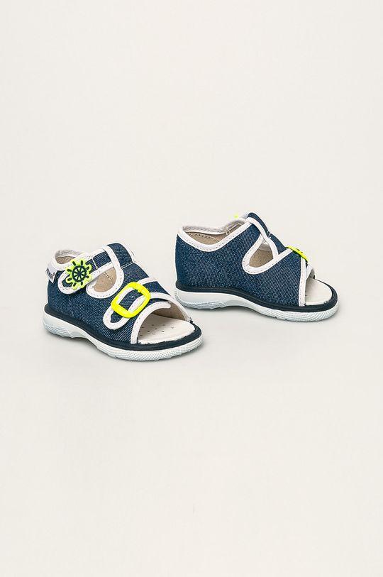 Primigi - Sandale copii albastru metalizat