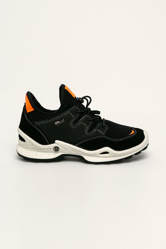 černá Primigi - Kožené boty Dívčí