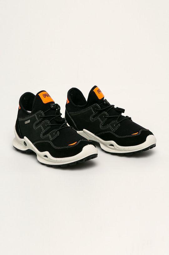 Primigi - Kožené boty černá