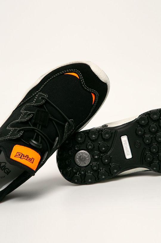 černá Primigi - Kožené boty