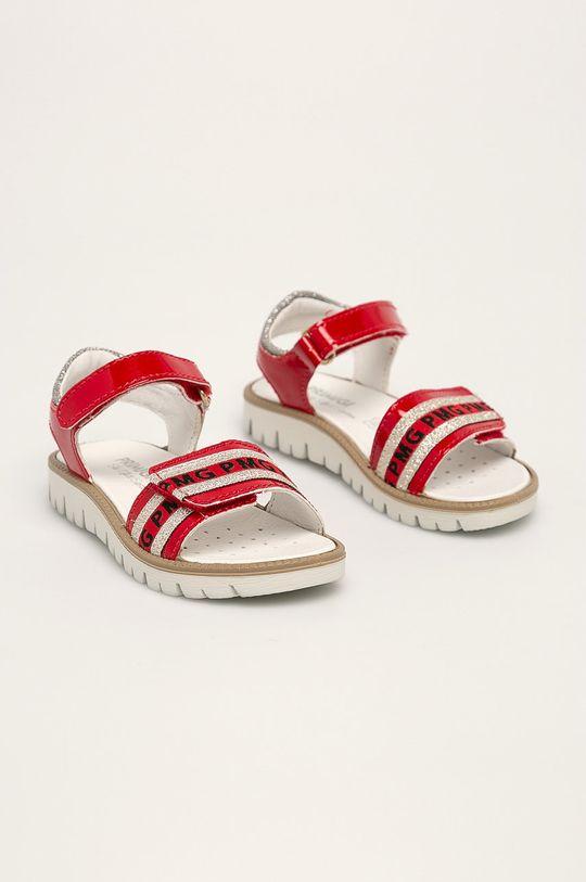 Primigi - Dětské sandály červená