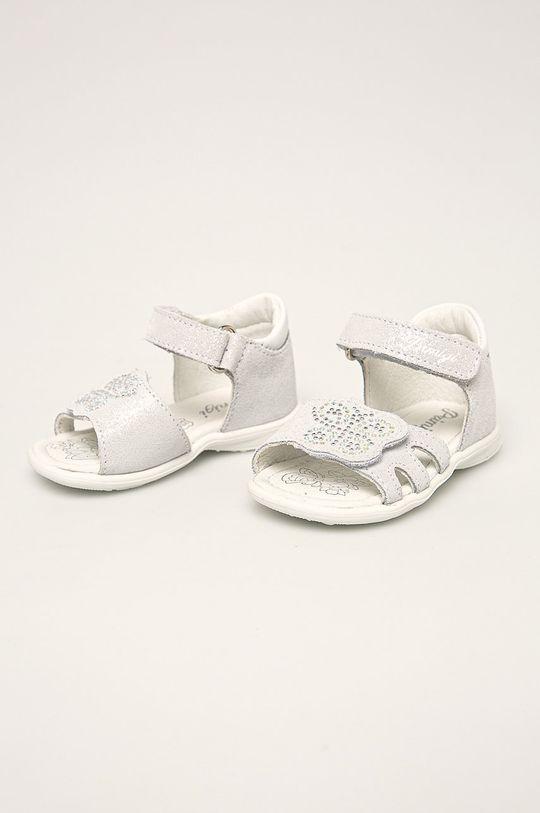 Primigi - Dětské sandály světle šedá