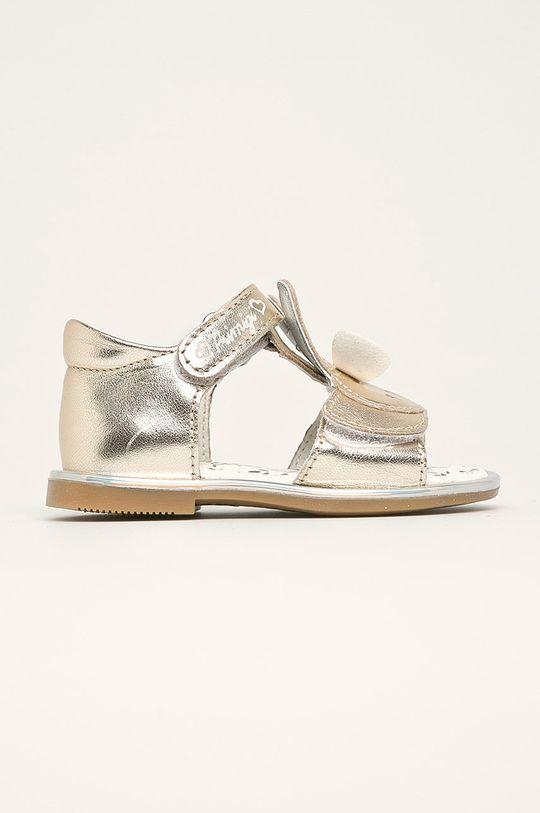 zlatá Primigi - Detské sandále Dievčenský