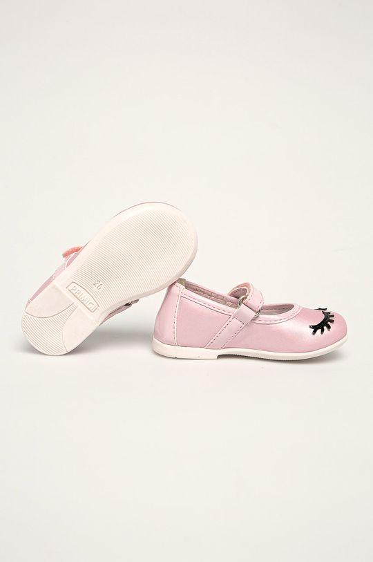 Primigi - Dětské balerínky Svršek: Umělá hmota Vnitřek: Textilní materiál, Přírodní kůže Podrážka: Umělá hmota