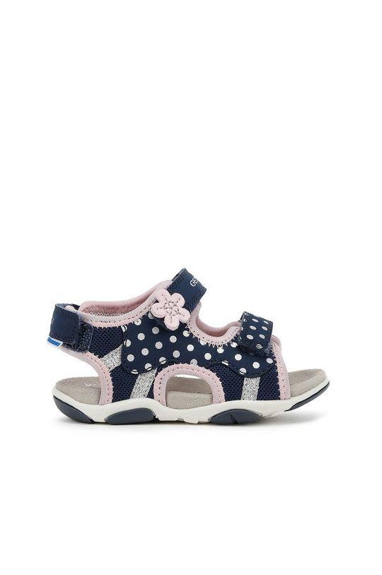 тъмносин Geox - Детски сандали Момиче