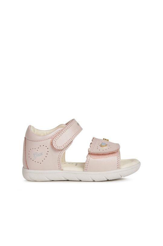 ružová Geox - Detské sandále Dievčenský
