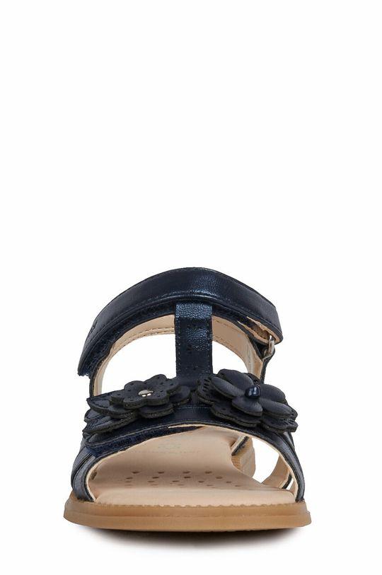 Geox - Sandały dziecięce Cholewka: Materiał syntetyczny, Wnętrze: Materiał tekstylny, Skóra naturalna, Podeszwa: Materiał syntetyczny