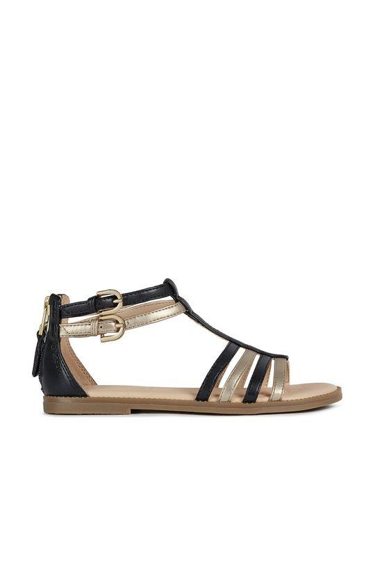 černá Geox - Dětské sandály Dívčí