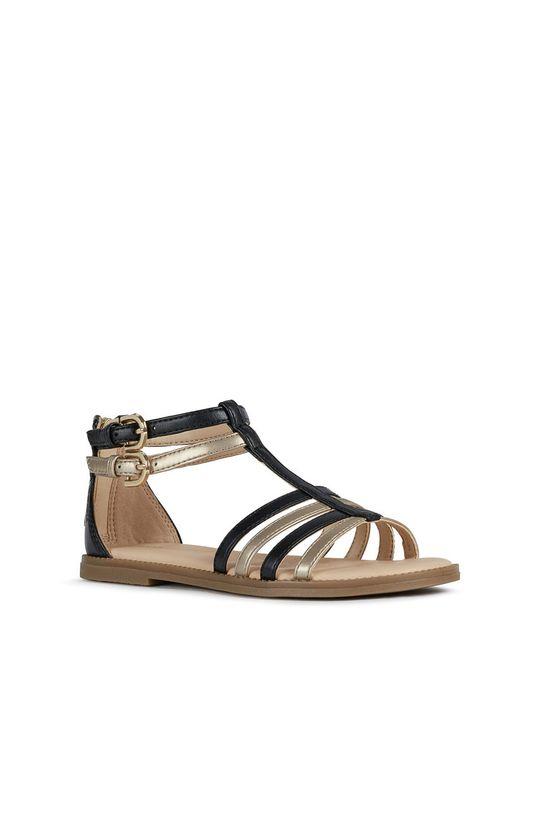 Geox - Dětské sandály černá