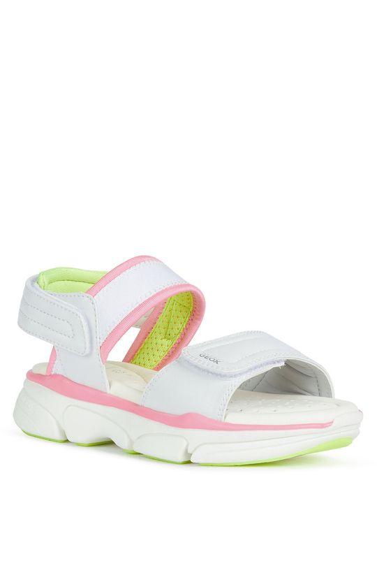 Geox - Детски сандали бял