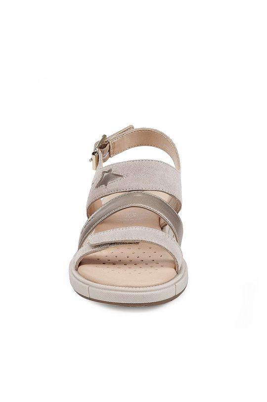Geox - Detské sandále  Zvršok: Syntetická látka, Prírodná koža Vnútro: Prírodná koža Podrážka: Syntetická látka