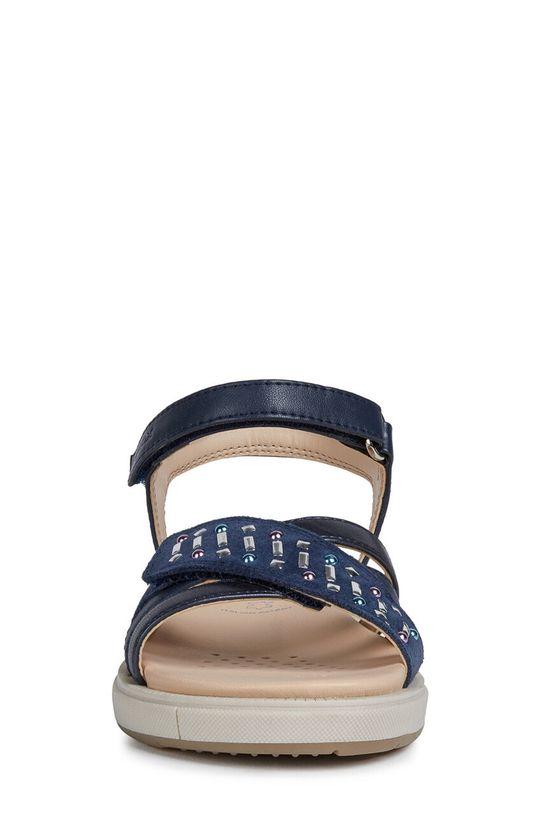 Geox - Dětské sandály Svršek: Umělá hmota, Semišová kůže Vnitřek: Přírodní kůže Podrážka: Umělá hmota