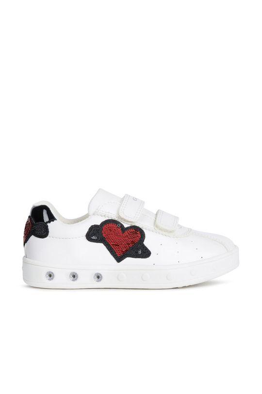 бял Geox - Детски обувки Момиче