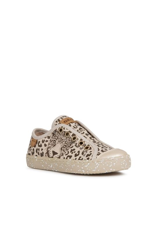 Geox - Детски обувки бежов