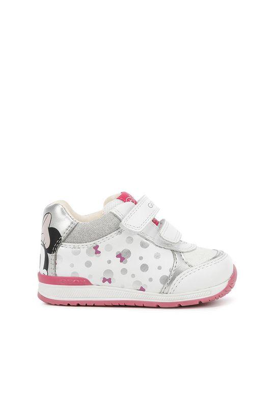 biela Geox - Detské topánky Dievčenský