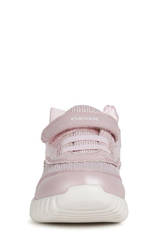 Geox - Detské topánky  Zvršok: Syntetická látka, Textil Vnútro: Textil, Prírodná koža Podrážka: Syntetická látka