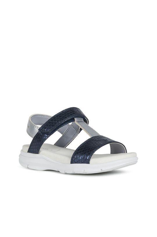 Geox - Detské sandále tmavomodrá