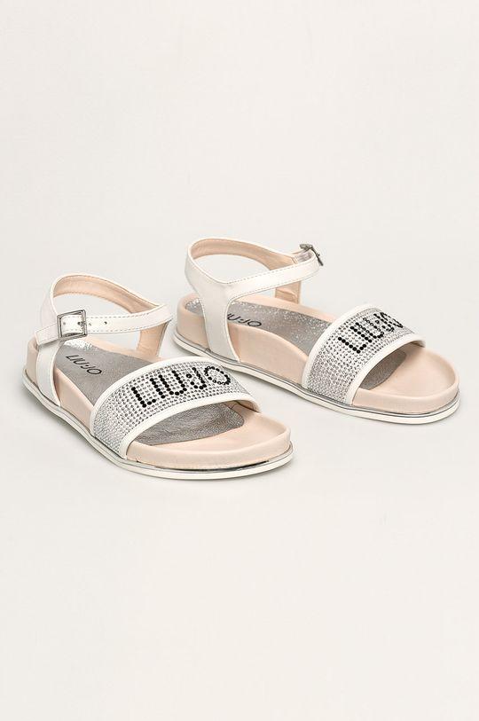 Liu Jo - Dětské sandály bílá