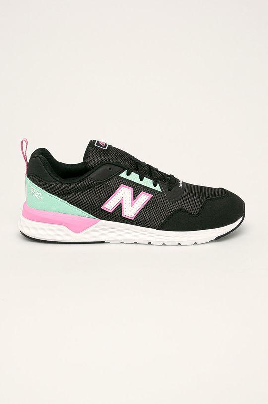 čierna New Balance - Detské topánky YS515RP2 Dievčenský