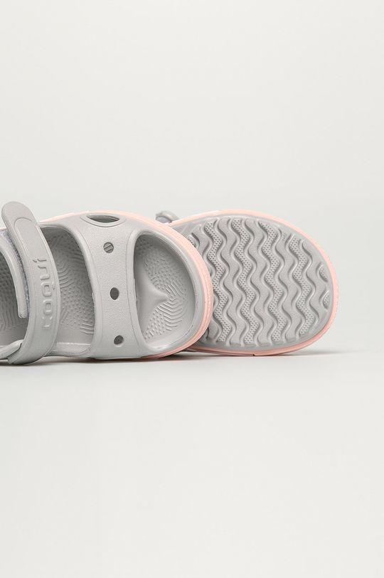světle šedá Coqui - Dětské sandály