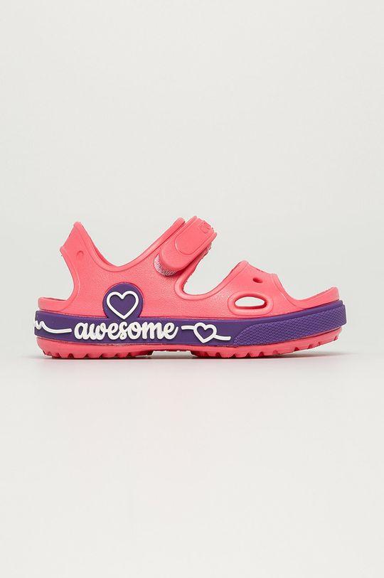 ostrá růžová Coqui - Dětské sandály Dívčí