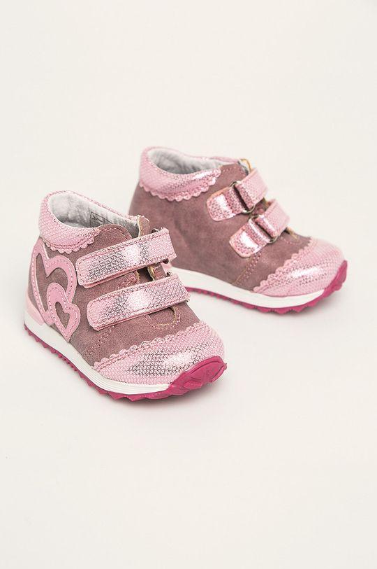 Kornecki - Detské topánky sýto ružová