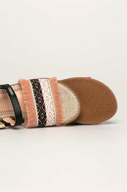 fialovo-růžová Pepe Jeans - Dětské sandály Elsa Etnic