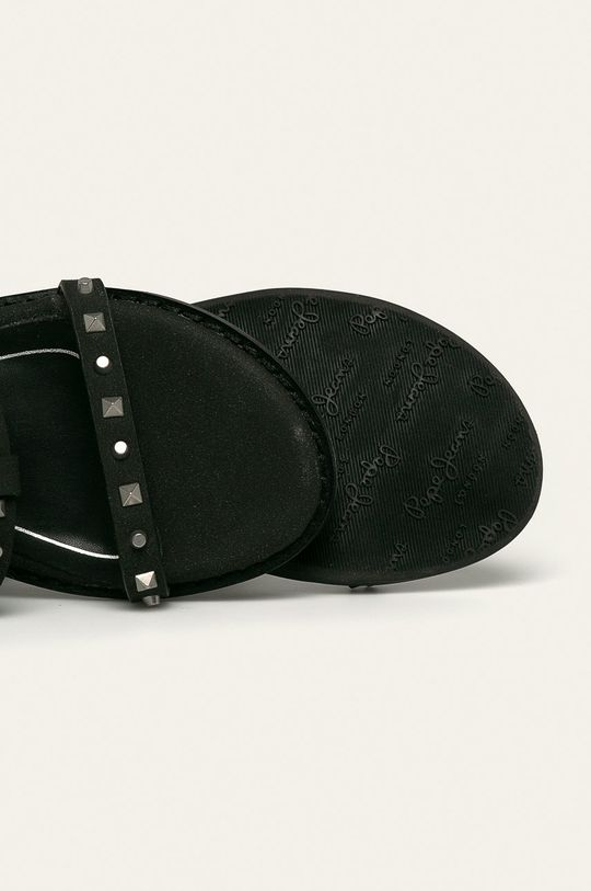czarny Pepe Jeans - Sandały dziecięce Elsa Studs