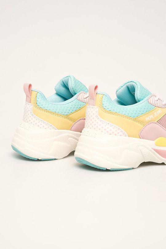Pepe Jeans - Pantofi copii SINYU GIRL GRAPHIC Gamba: Material sintetic, Material textil Interiorul: Material textil Talpa: Material sintetic