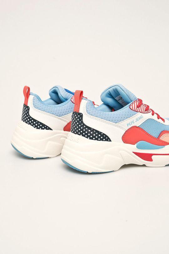 Pepe Jeans - Dětské boty SINYU GIRL GRAPHIC Svršek: Umělá hmota, Textilní materiál Vnitřek: Textilní materiál Podrážka: Umělá hmota