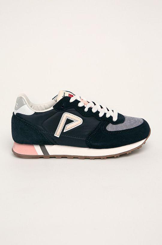 námořnická modř Pepe Jeans - Dětské boty Klein Archive Summer G Chambray Dívčí