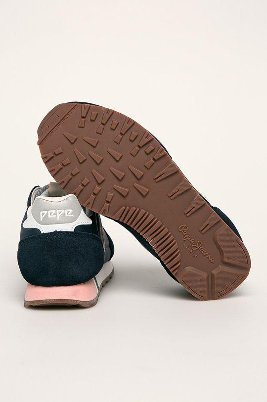 námořnická modř Pepe Jeans - Dětské boty Klein Archive Summer G Chambray