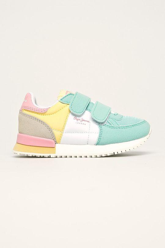 turcoaz deschis Pepe Jeans - Pantofi copii Sydney Pastel De fete