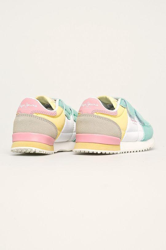 Pepe Jeans - Pantofi copii Sydney Pastel Gamba: Material sintetic, Material textil Interiorul: Material textil Talpa: Material sintetic