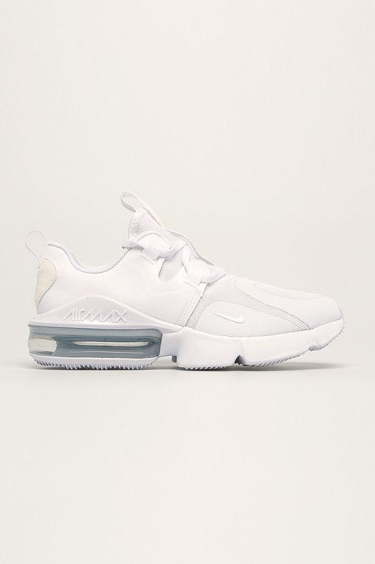 biela Nike Kids - Detské topánky Nike Air Max Infinity Dievčenský