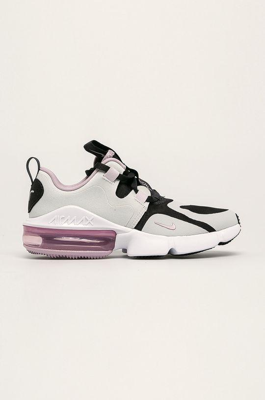svetlosivá Nike Kids - Detské topánky Nike Air Max Infinity Dievčenský