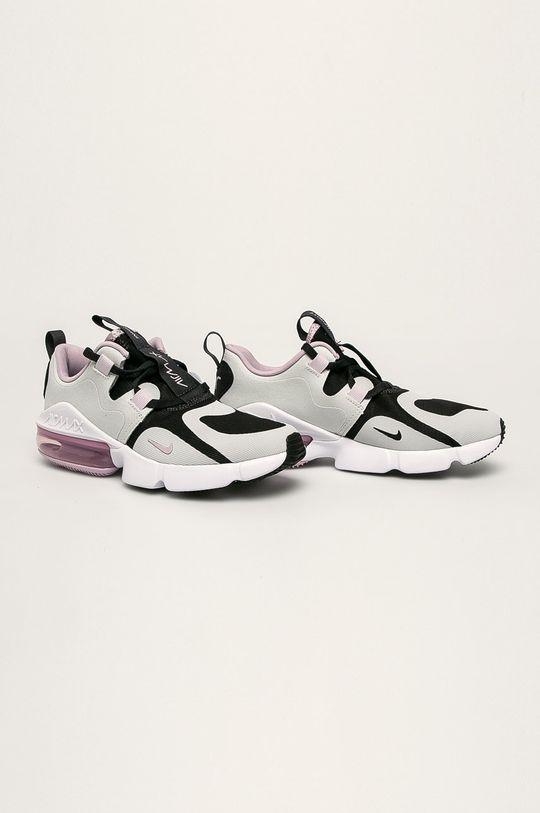 Nike Kids - Detské topánky Nike Air Max Infinity svetlosivá