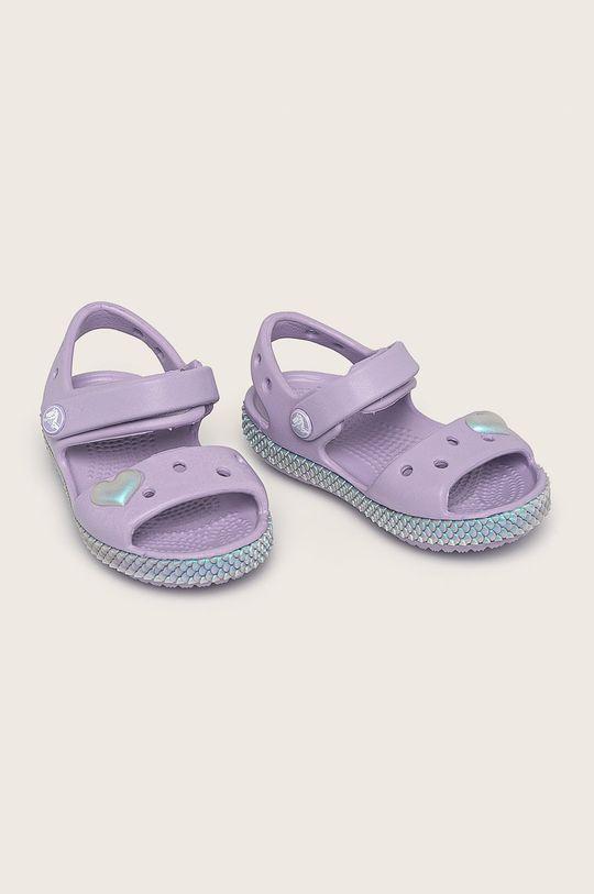 Crocs - Детски сандали лавандула