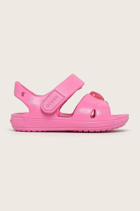 наситенорозов Crocs - Детски сандали Момиче