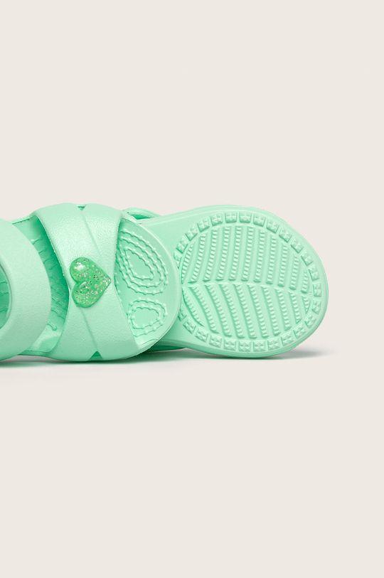 светлозелен Crocs - Детски сандали