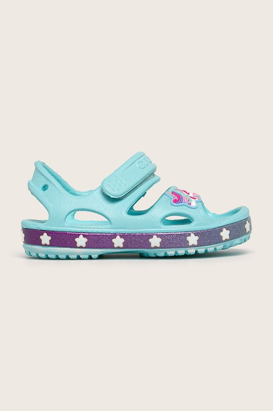 светлосин Crocs - Детски сандали Момиче