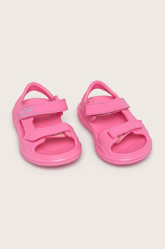 Crocs - Детски сандали наситенорозов