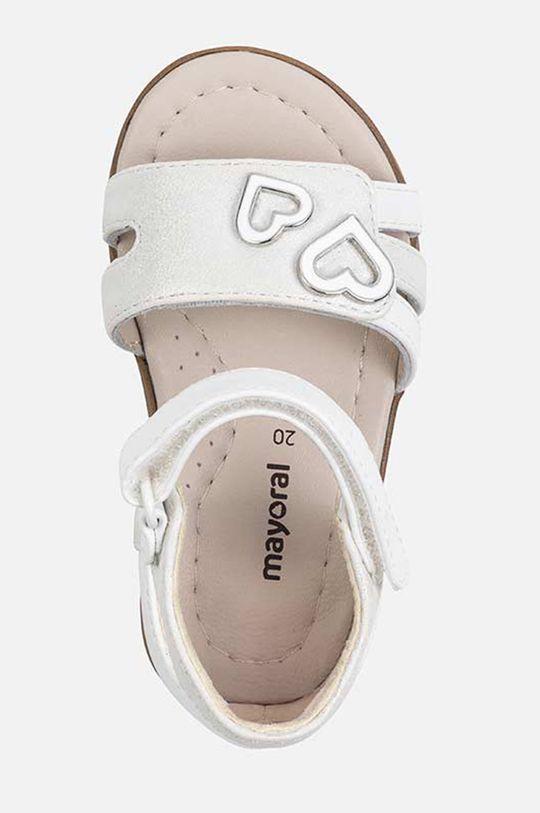 Mayoral - Sandale copii Gamba: Material sintetic, Material textil Interiorul: Piele naturala Talpa: Material sintetic